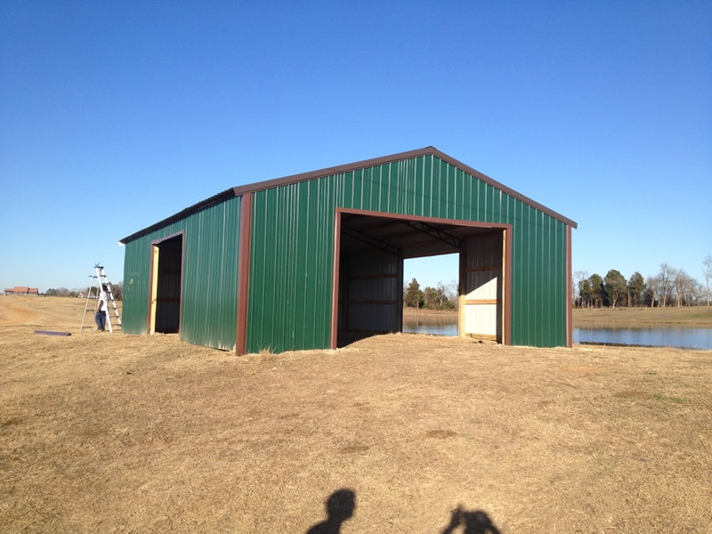 Register Pole Barns are low cost, high quality Barns